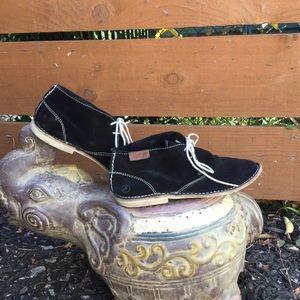 BRONX Suede Desert Boots Fiesta BLACK